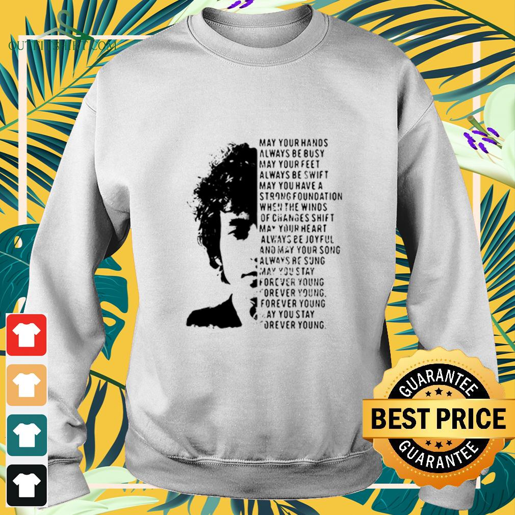 Jimi Hendrix May Your Hands Always Be Busy May Your Feet Always Be Swift May You Have A Strong Foundation sweater