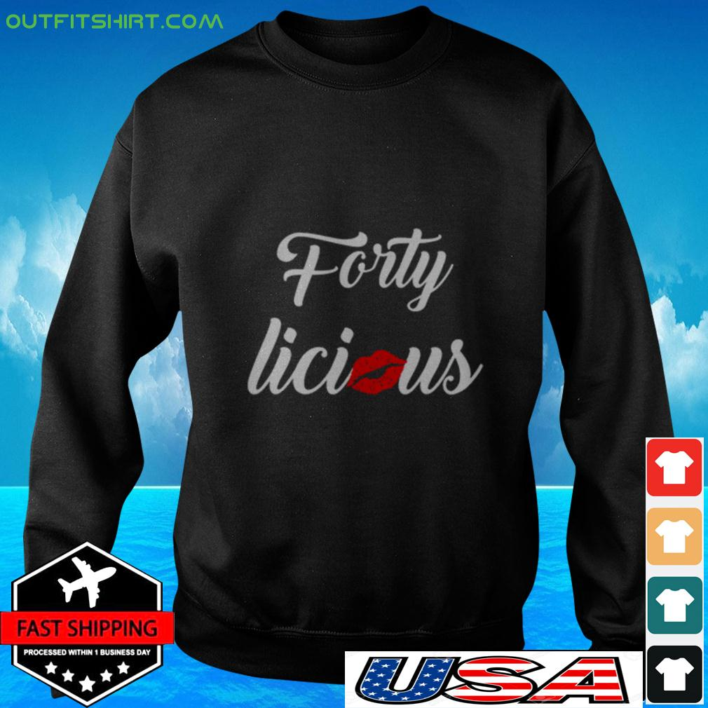Lips kiss forty licious sweater