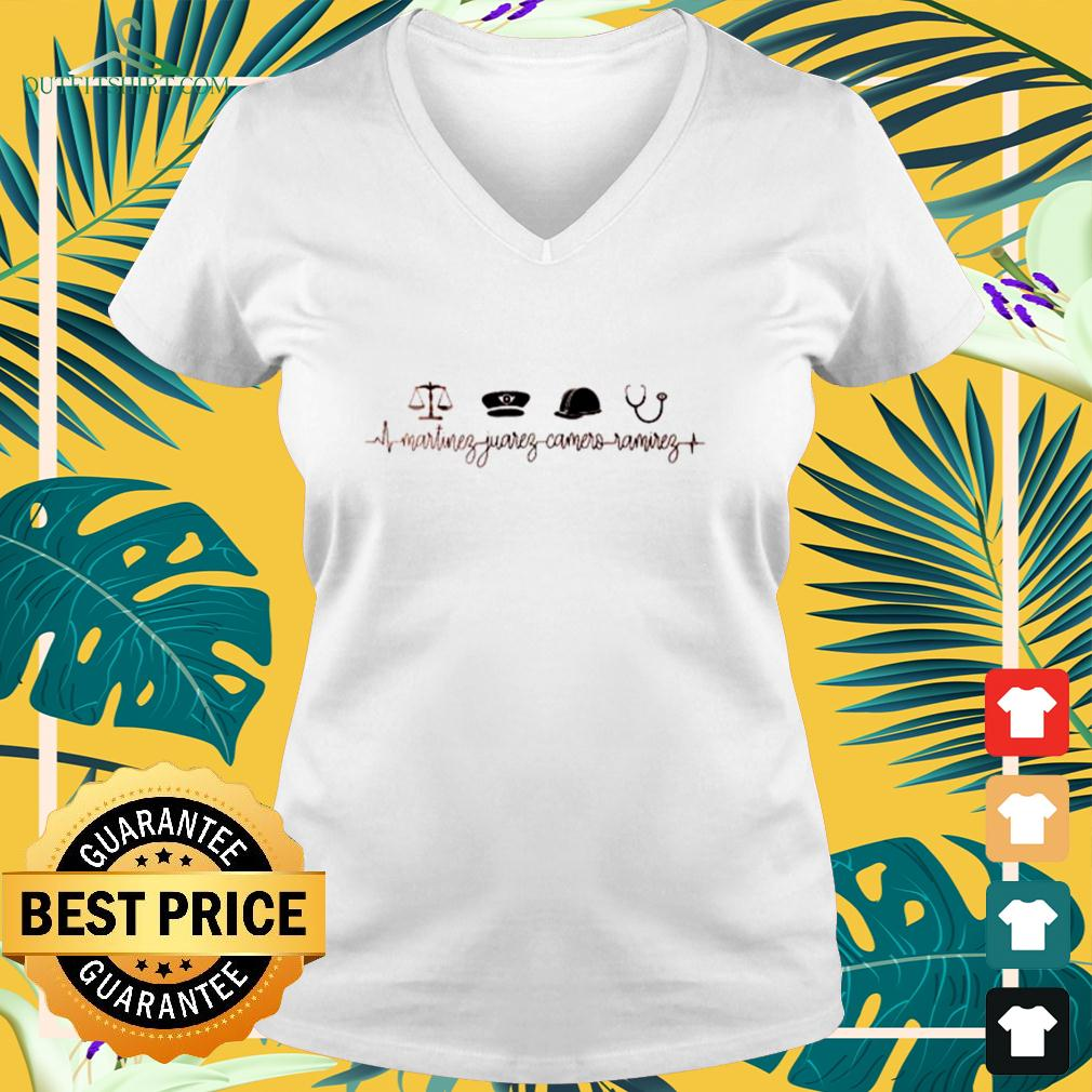 Martinez Juarez Camera Ramirez v-neck t-shirt
