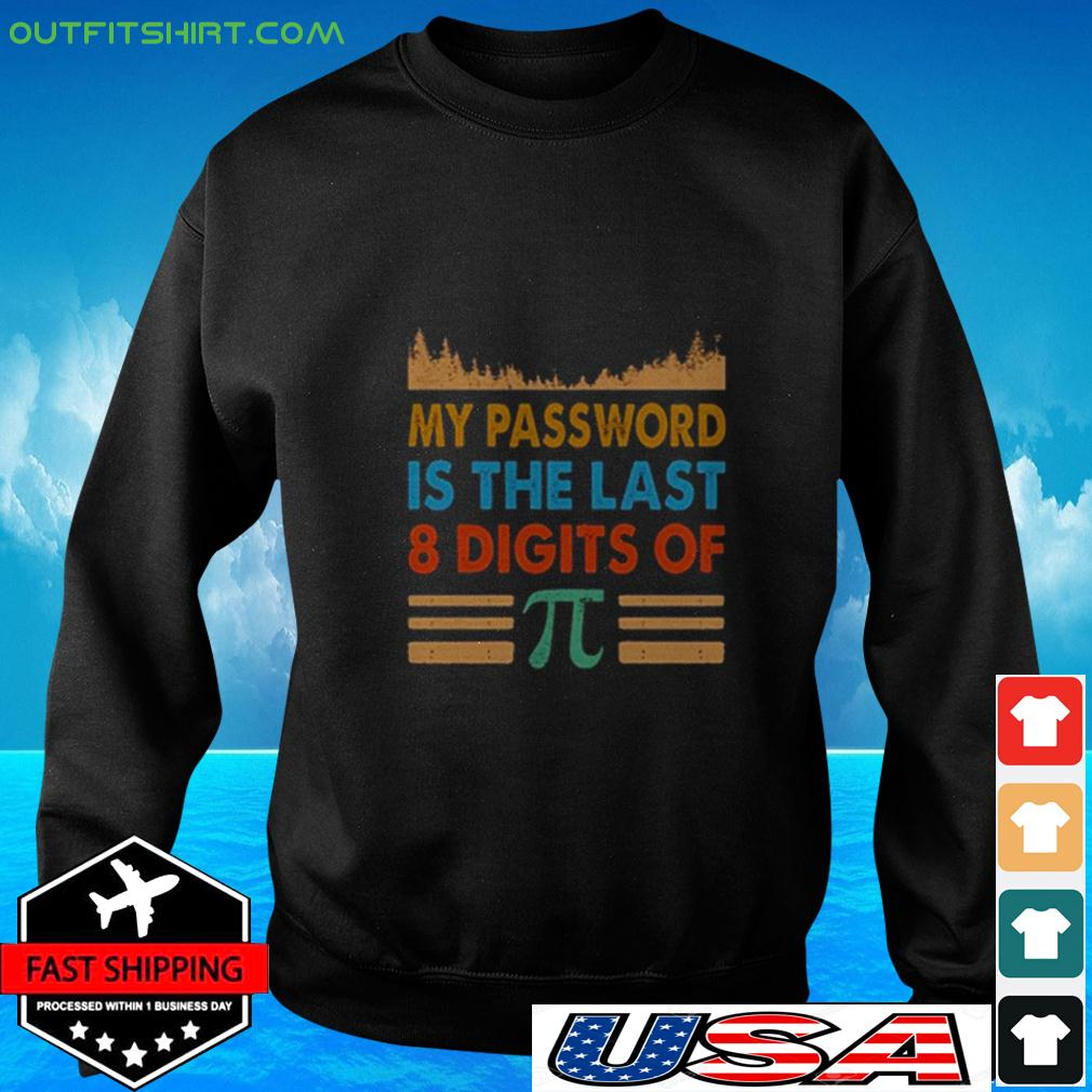 My password is the last 8 digits of Pi vintage sweater