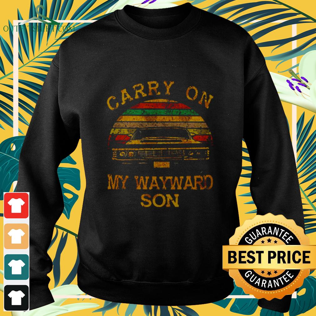 Official Original Supernatural Carry on my wayward son sweater