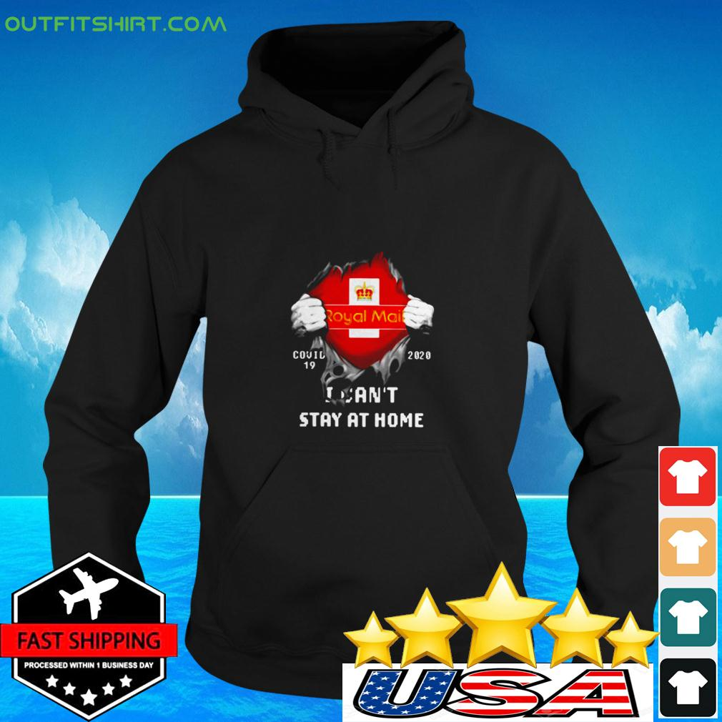 Royal Mail Covid-19 2020 I can't stay at home hoodie