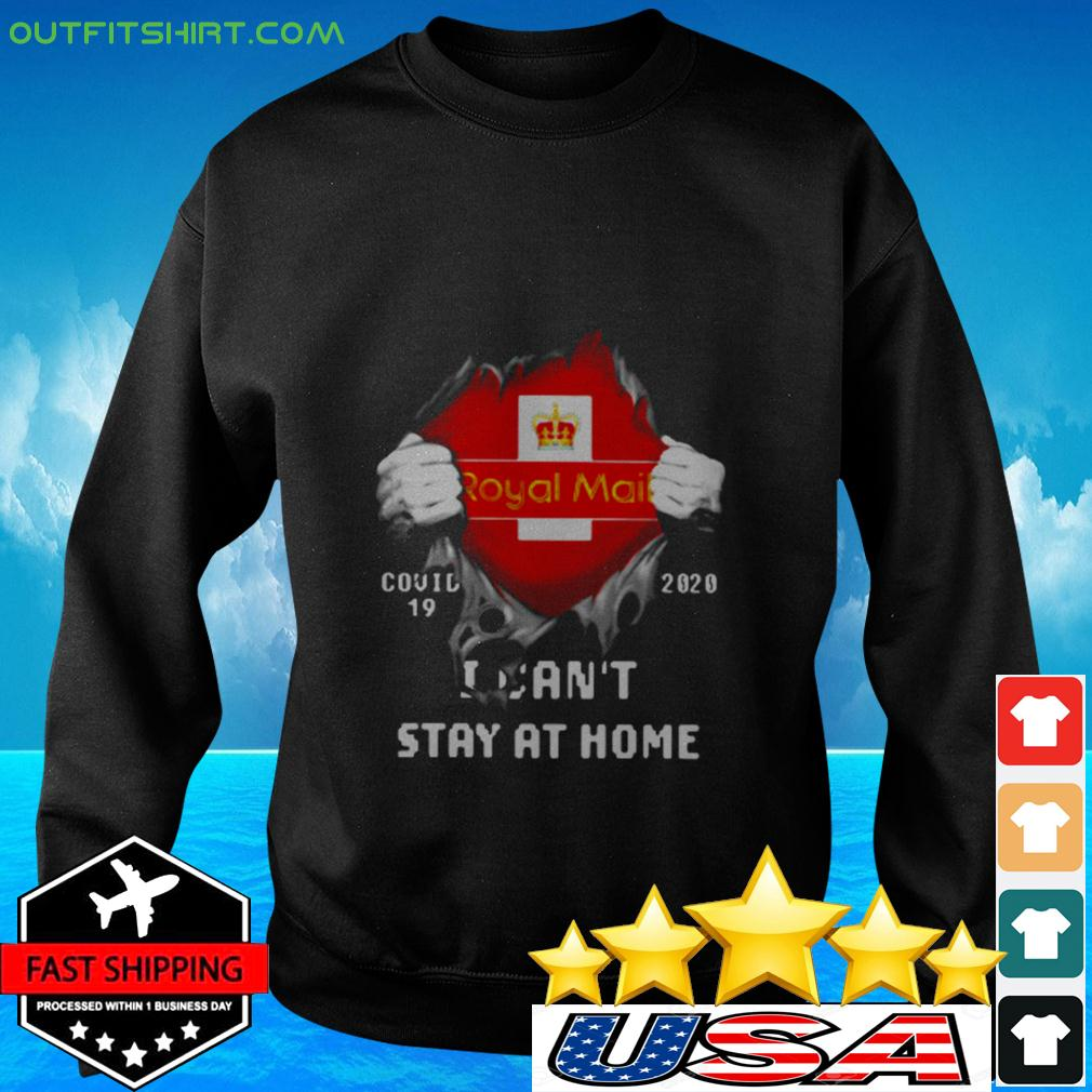 Royal Mail Covid-19 2020 I can't stay at home sweater