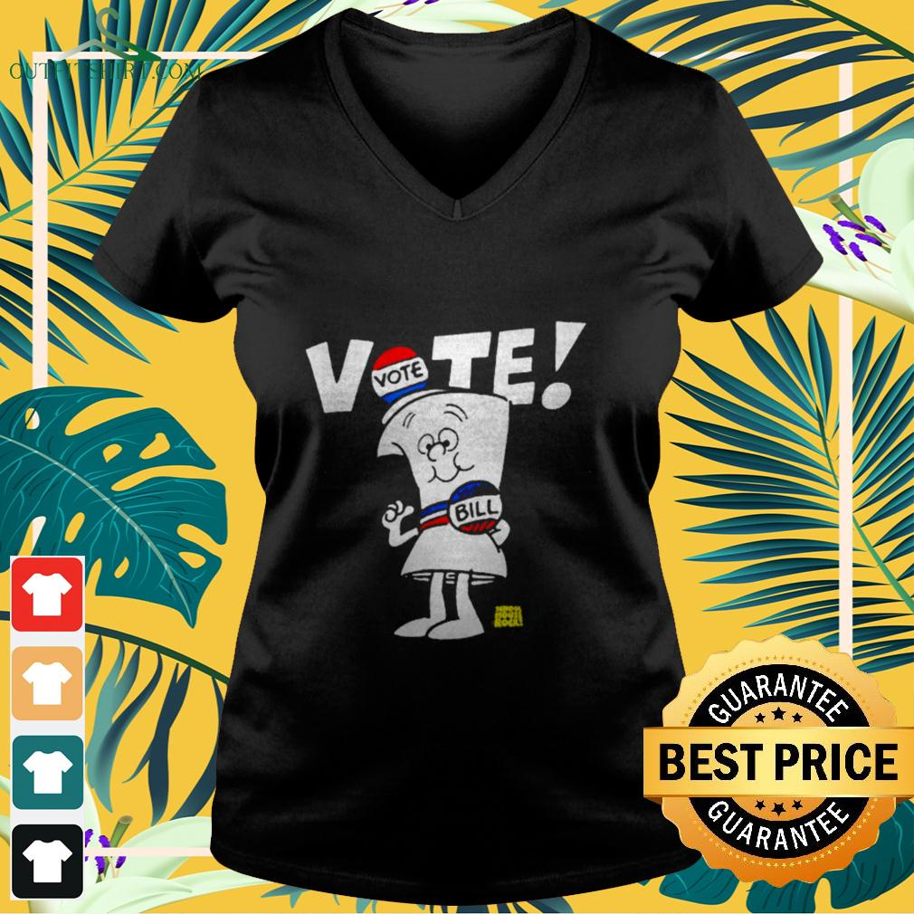 Schoolhouse Rock Vote with Bill Essential v-neck t-shirt