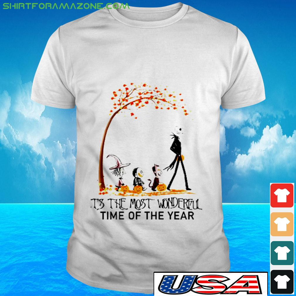 Skellingotn Halooween It's the most wonderful time of the year t-shirt