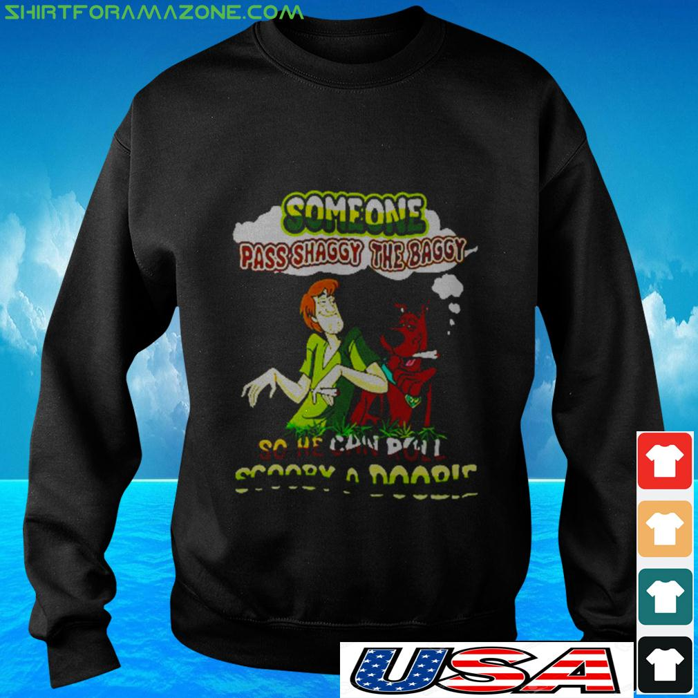Someone pass shaggy the baggy so he can roll Scooby a Doobie sweater