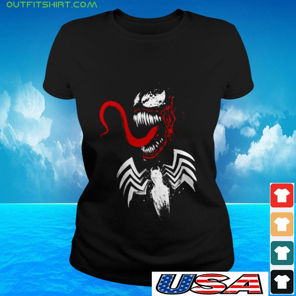 Spiderman Venom ladies-tee