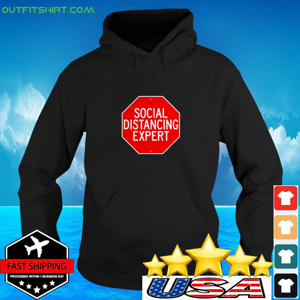 Stop Through Social Distance Funny Introvert hoodie