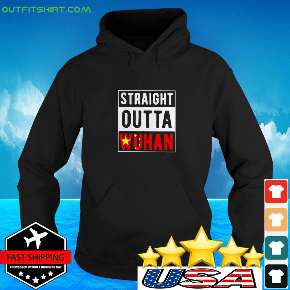 Straight Outta Wuhan Hubei China Tourist Souvenir hoodie