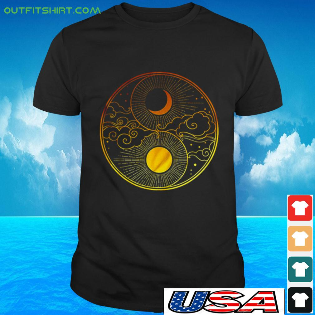 Sun Moon Clouds t-shirt