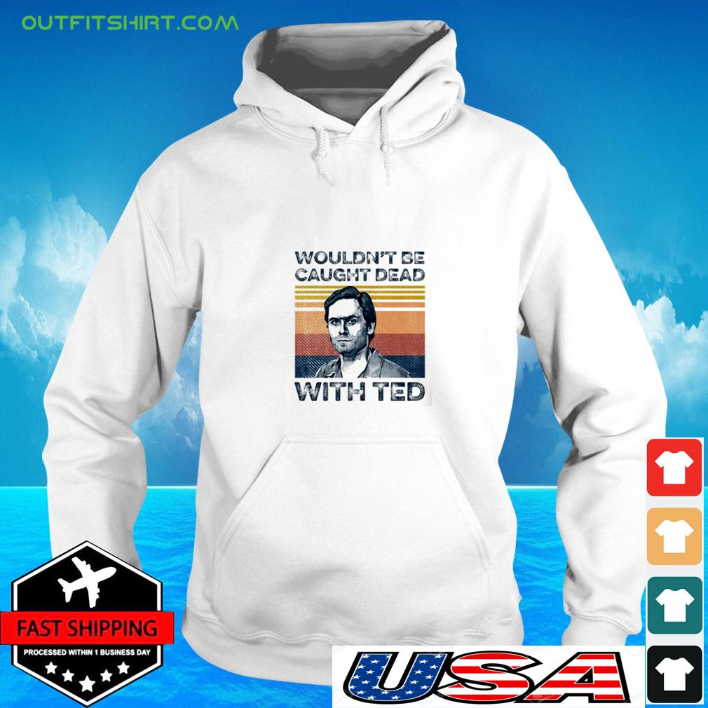 Ted Bundy wouldn't be caught dead with red vintage hoodie