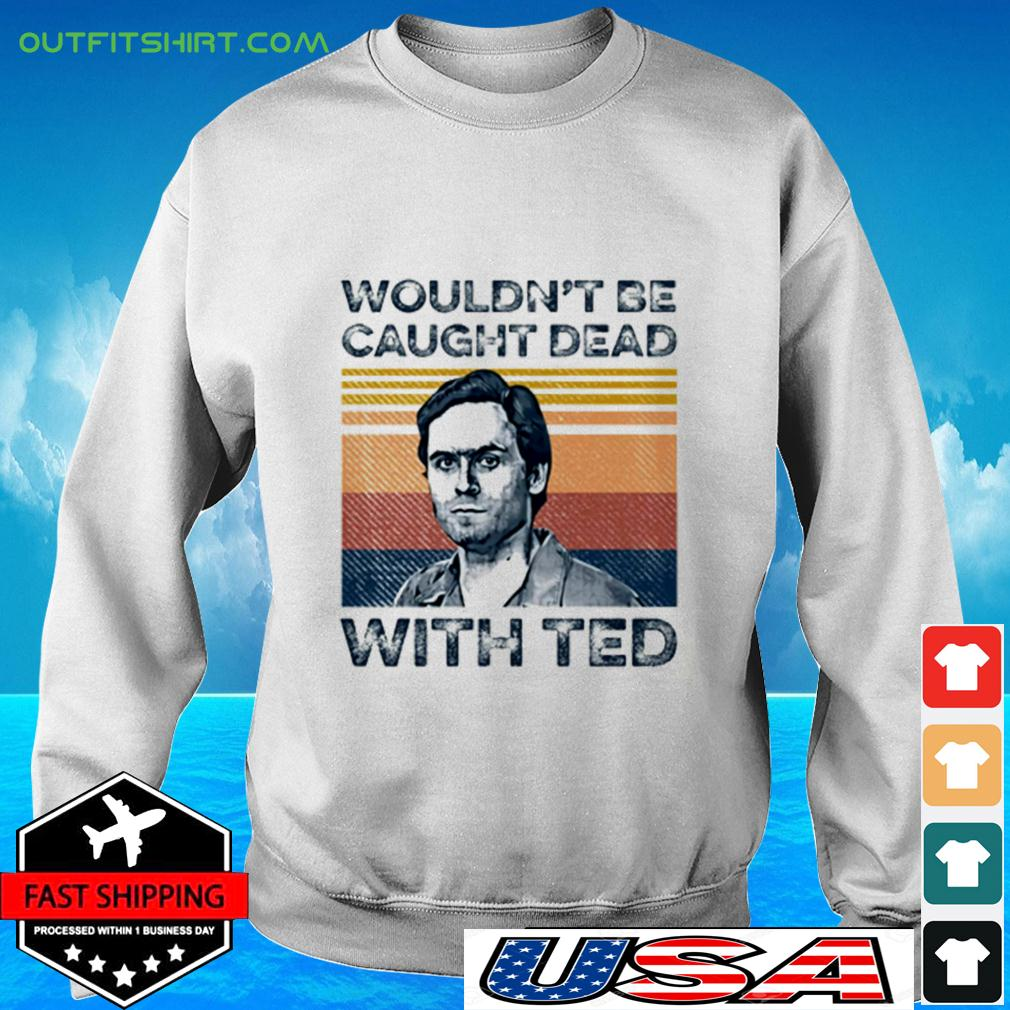 Ted Bundy wouldn't be caught dead with red vintage sweater