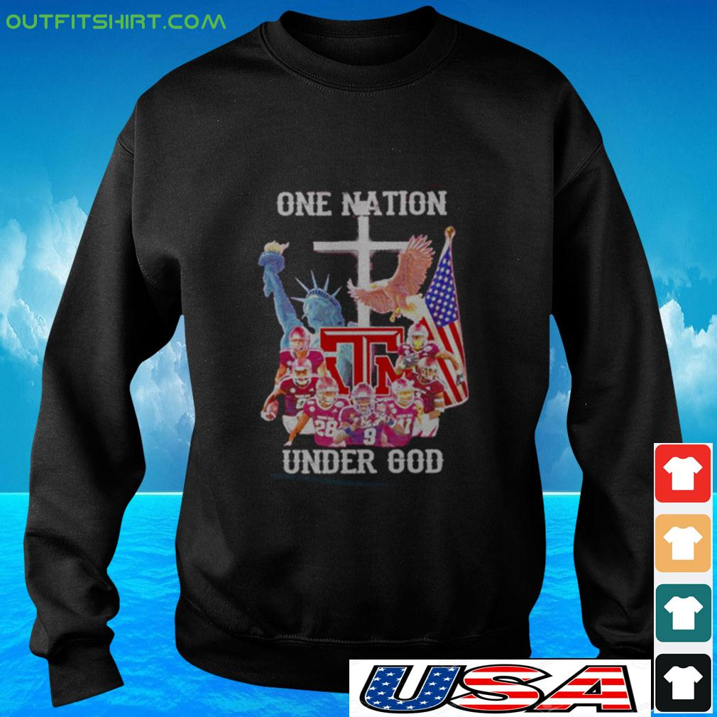 Texas A-M Aggies one nation under god sweater
