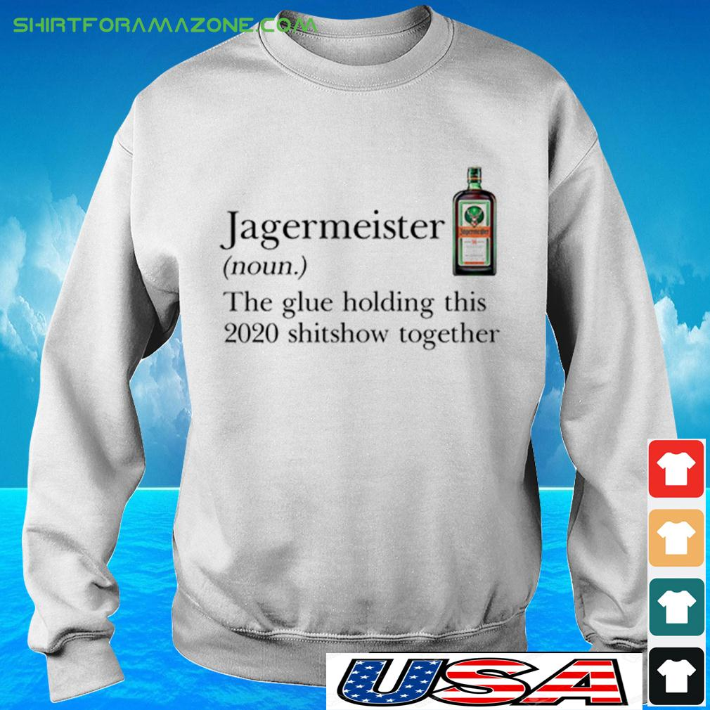 the glue holding this 2020 shitshow together sweater