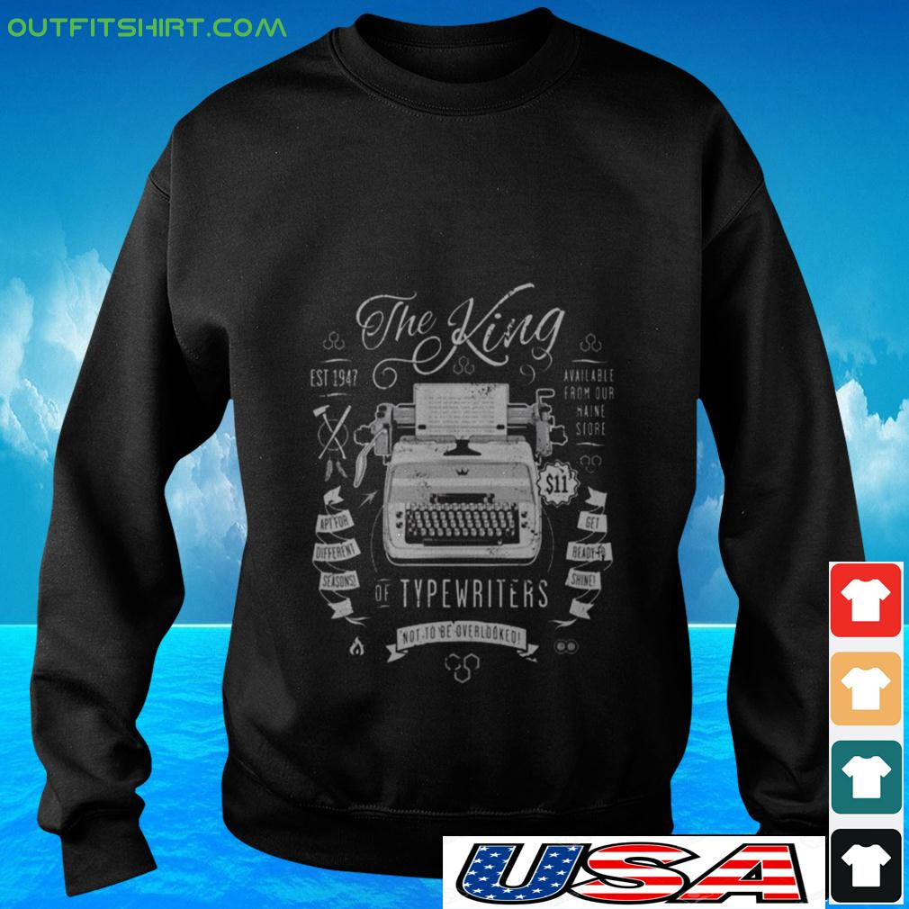 The King of typewriters not to be overlooked sweater