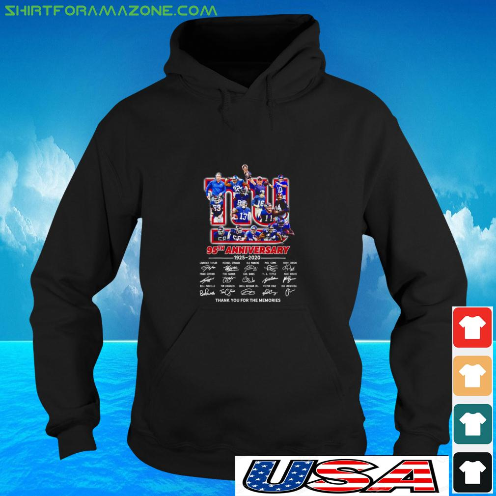 The New York Rangers 95th anniversary 1926 2021 thank you for the memories hoodie