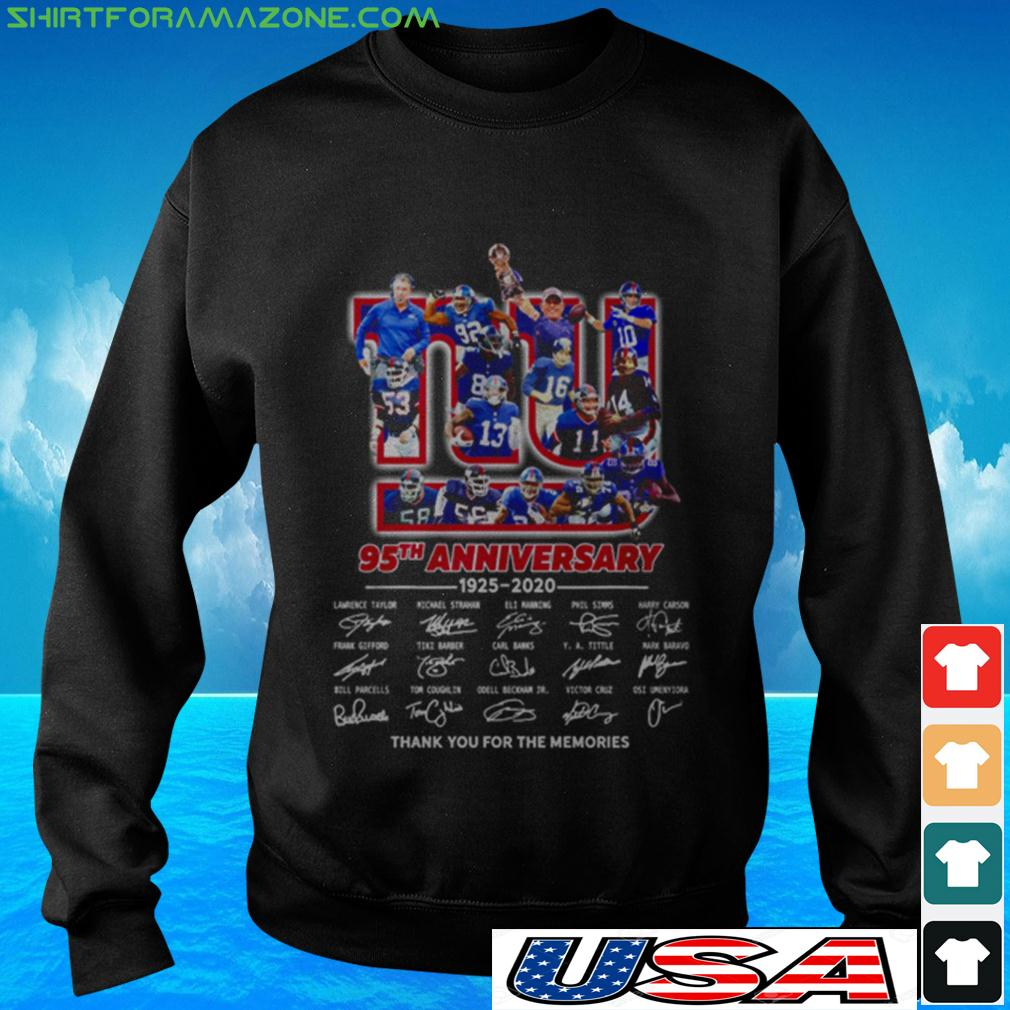The New York Rangers 95th anniversary 1926 2021 thank you for the memories sweater