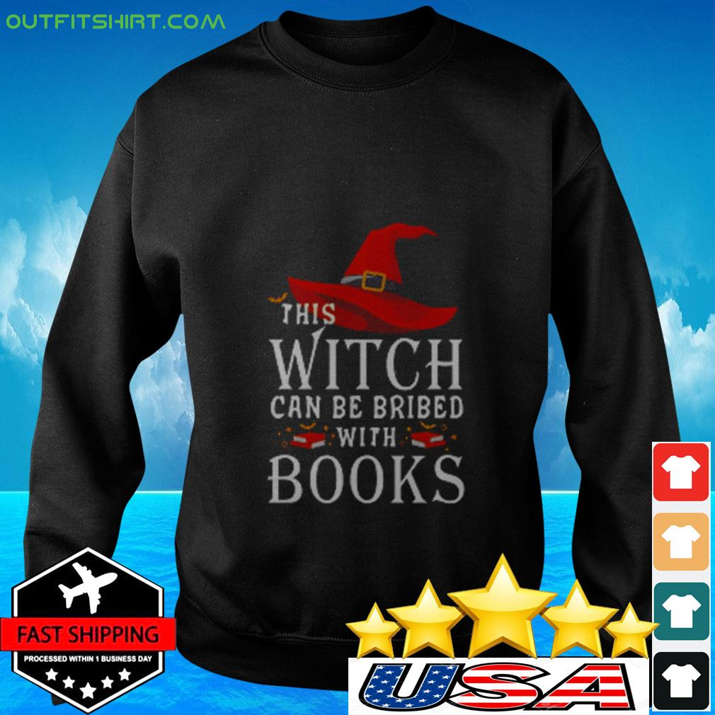 This Witch can be brided with books sweater