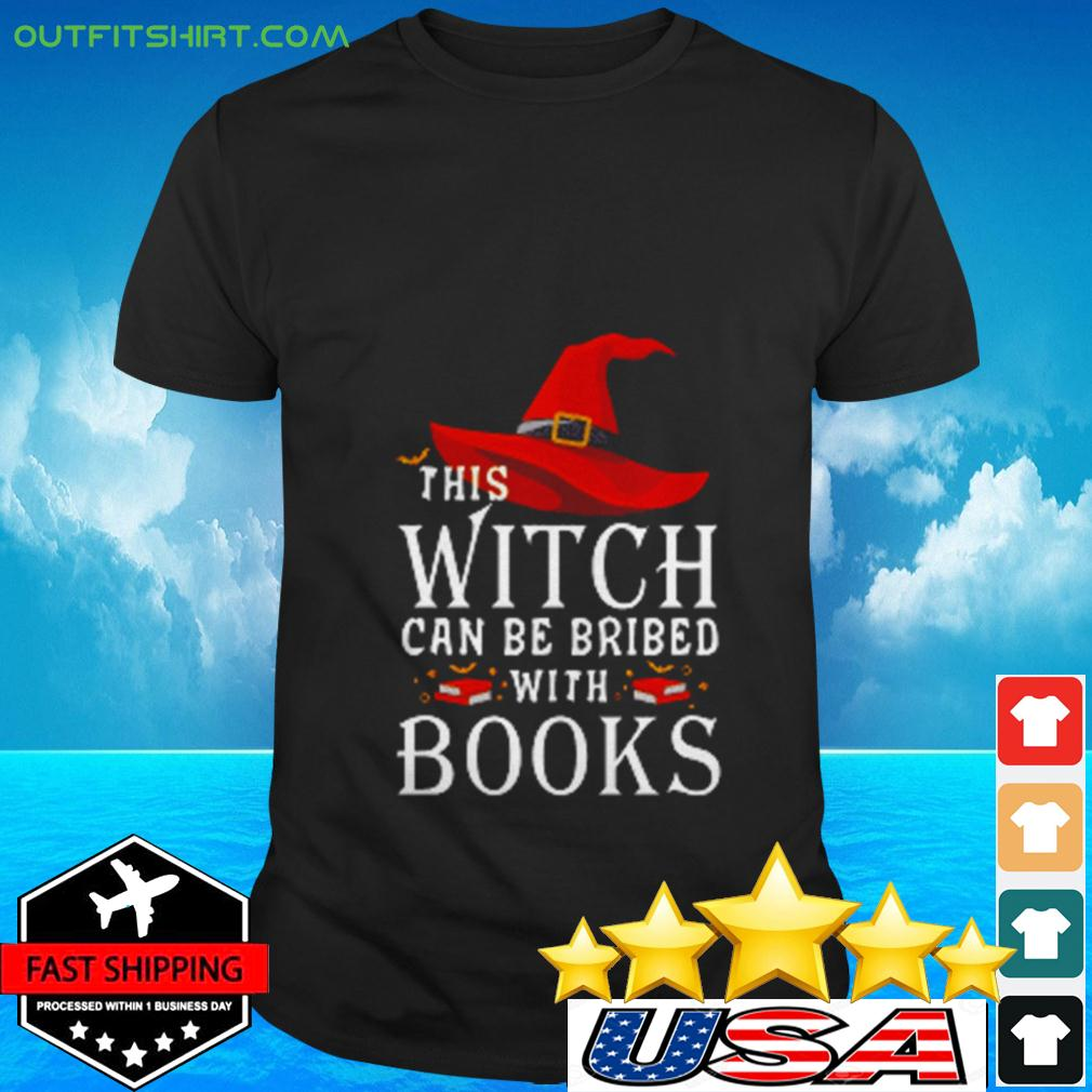 This Witch can be brided with books t-shirt