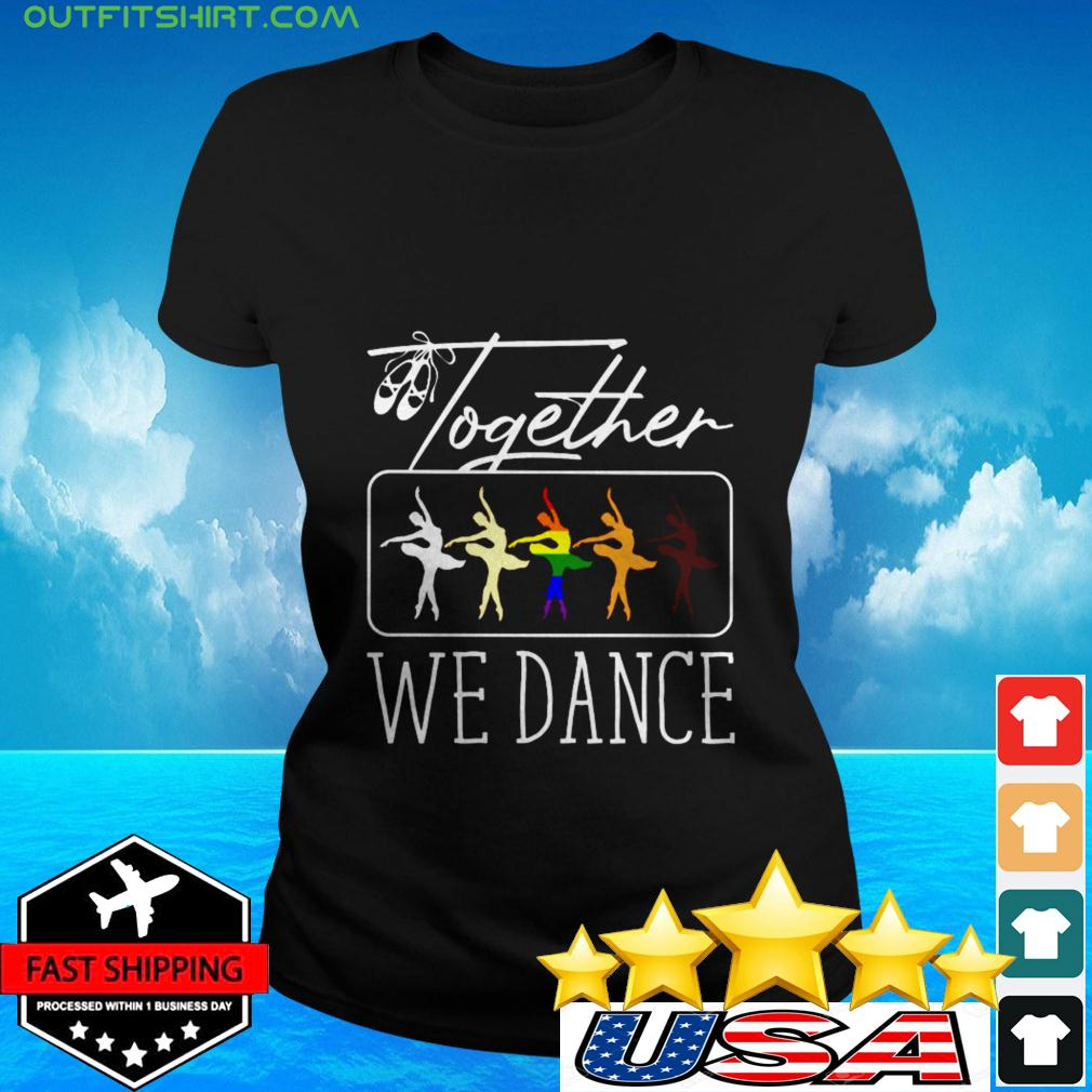 Together we dance LGBT ladies-tee