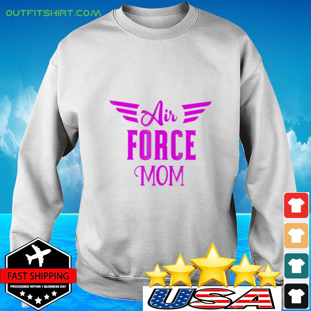 US Air Force Proud Pink Mom Usaf sweater