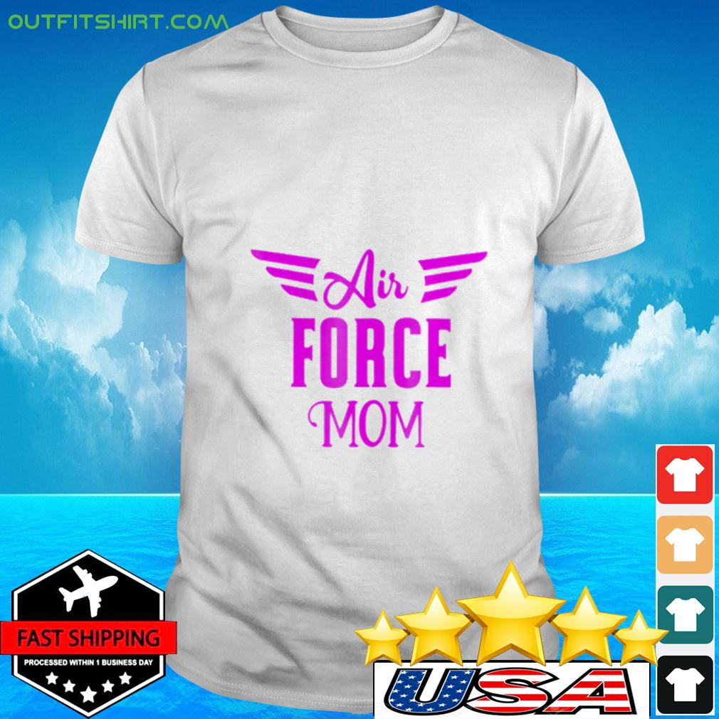 US Air Force Proud Pink Mom Usaf t-shirt