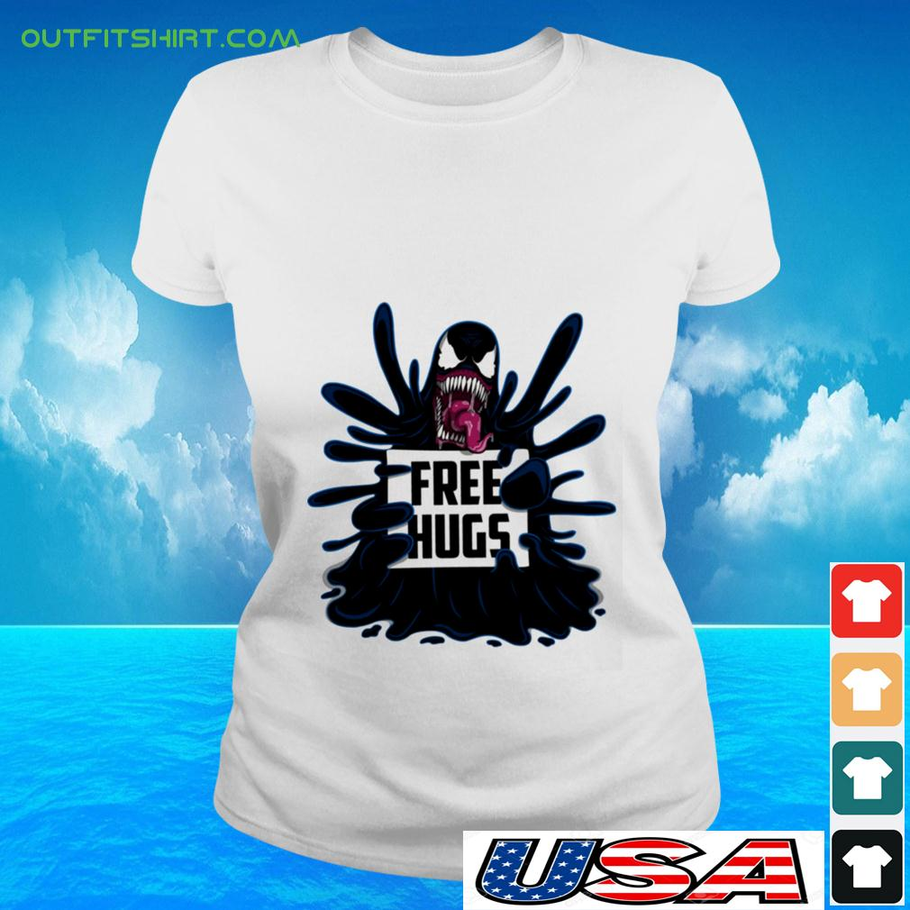 Venom free hugs ladies-tee
