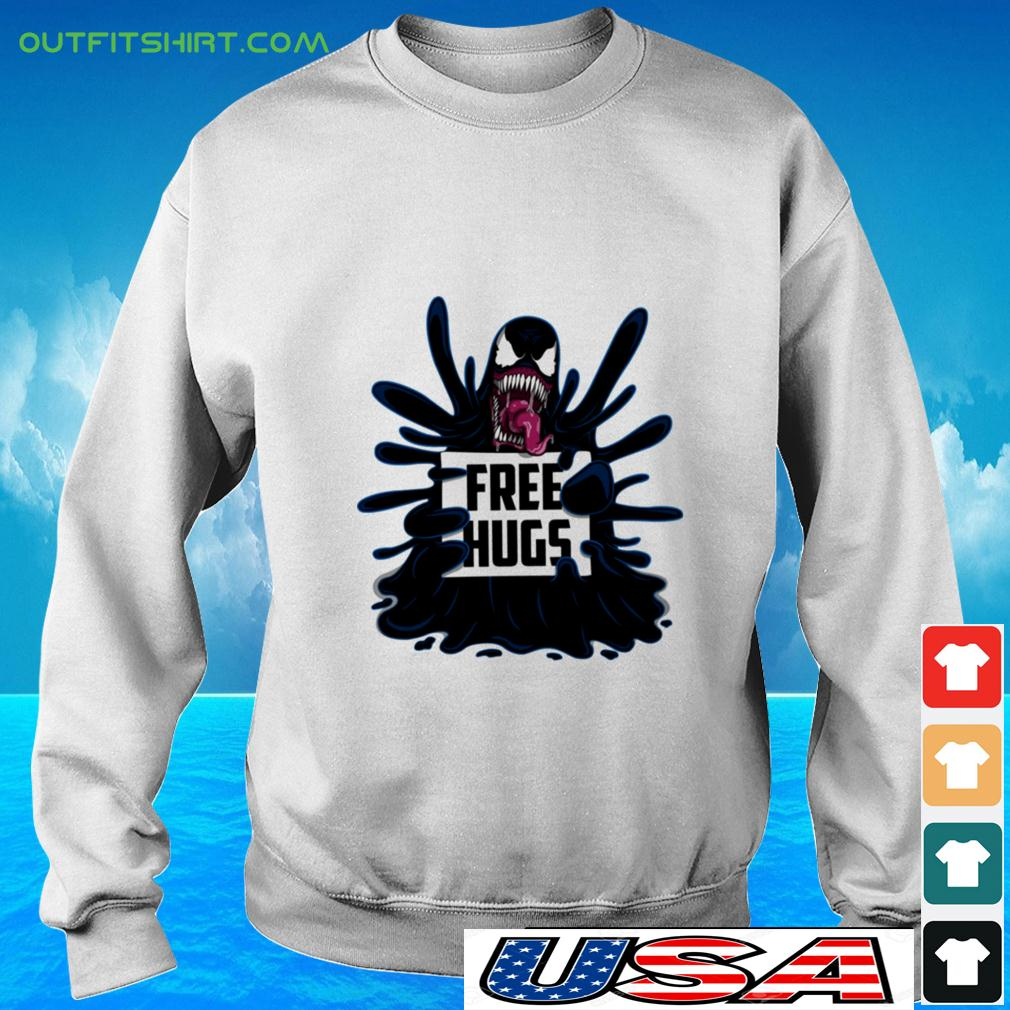Venom free hugs sweater
