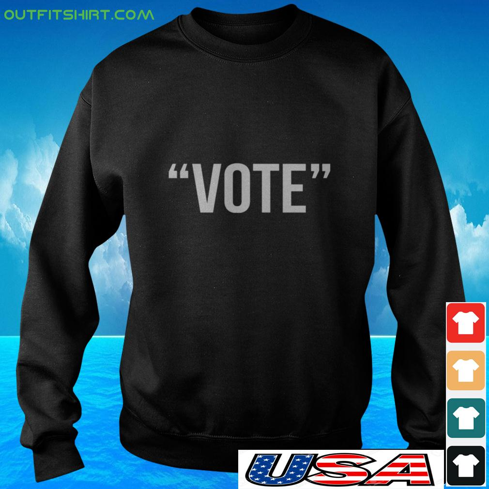 Vote the simple one word sweater