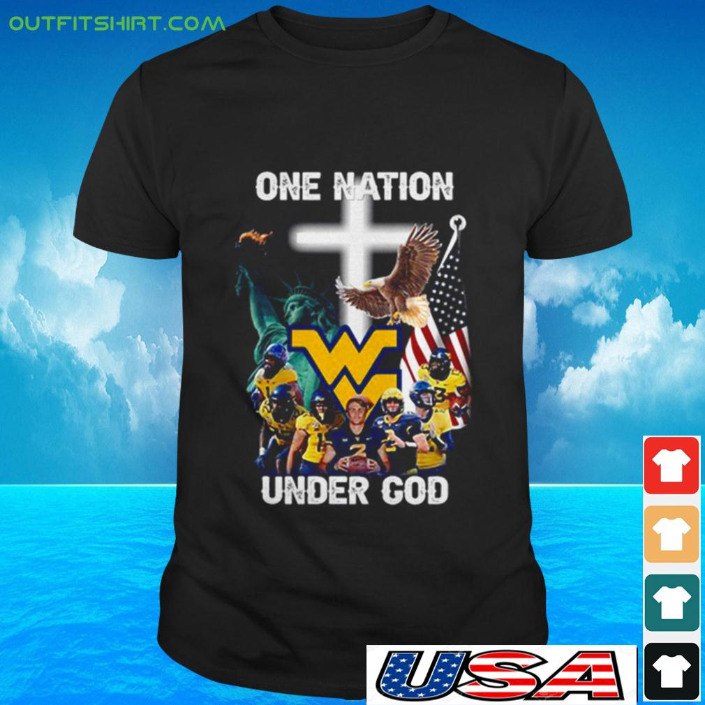 West Virginia One nation under god t-shirt
