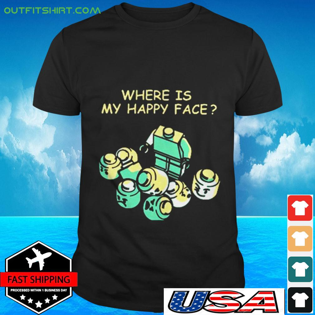 Where is my happy face t-shirt