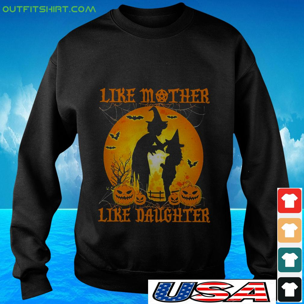 Witch like mother like daughter Halloween sweater