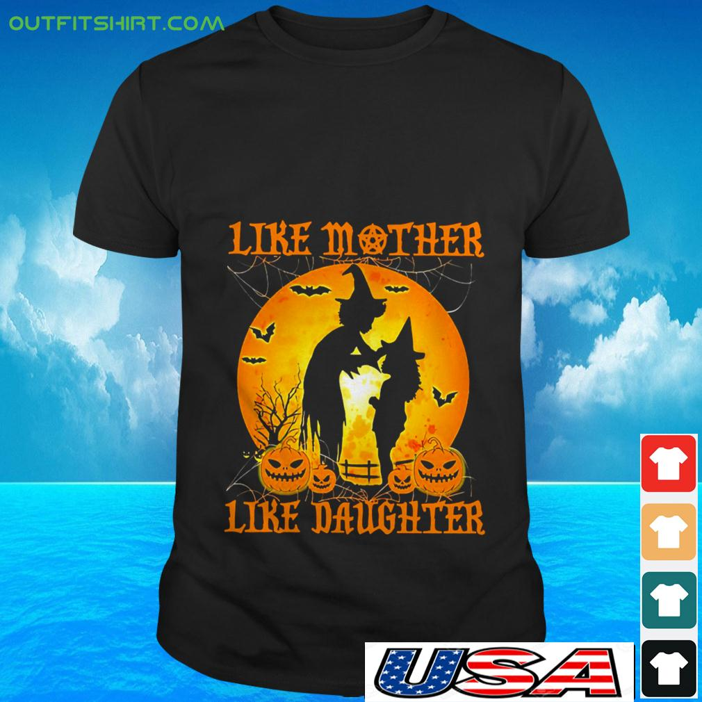 Witch like mother like daughter Halloween t-shirt