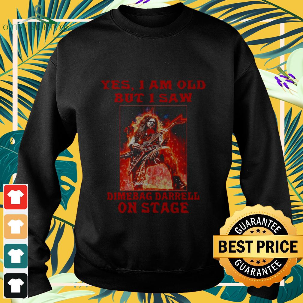 Yes I am old but I saw Dimebag Darrell on stage sweater