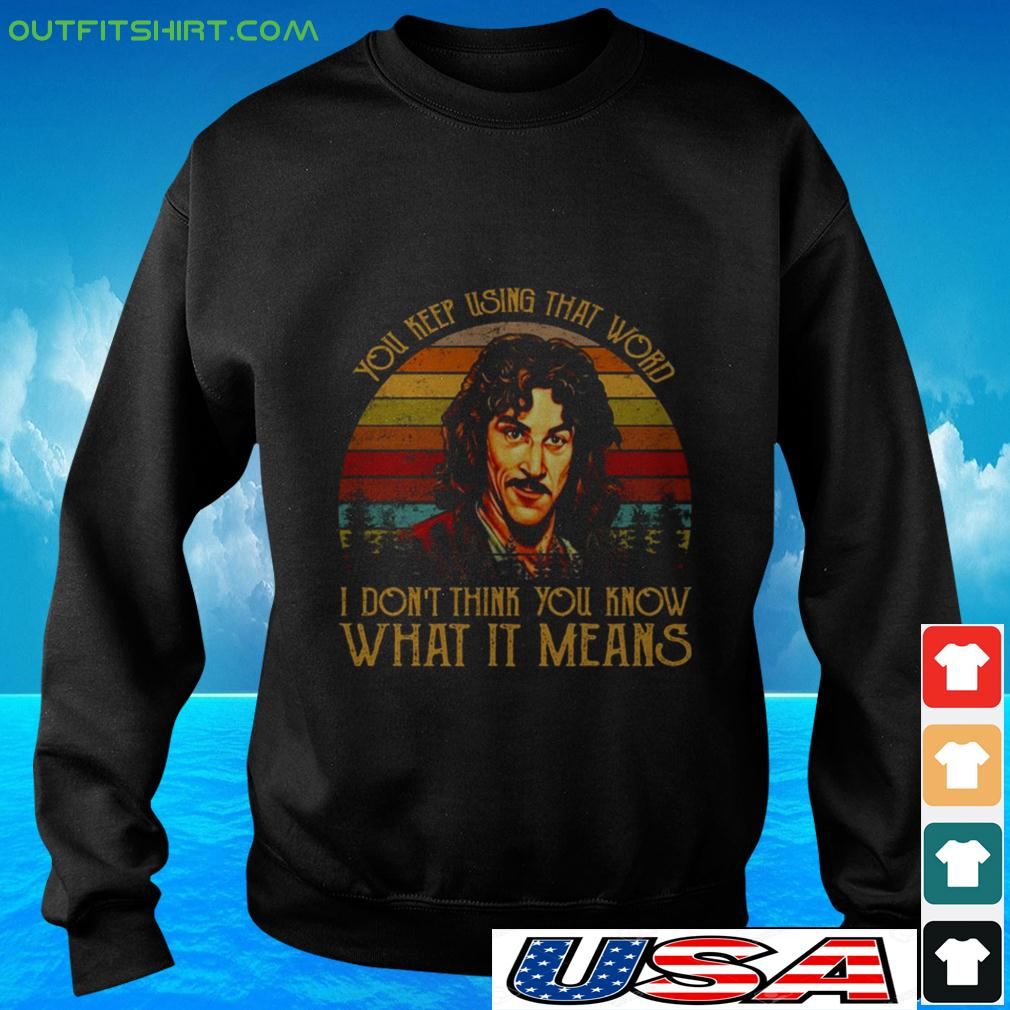 You keep using that word I don't think you know what it means vintage sweater