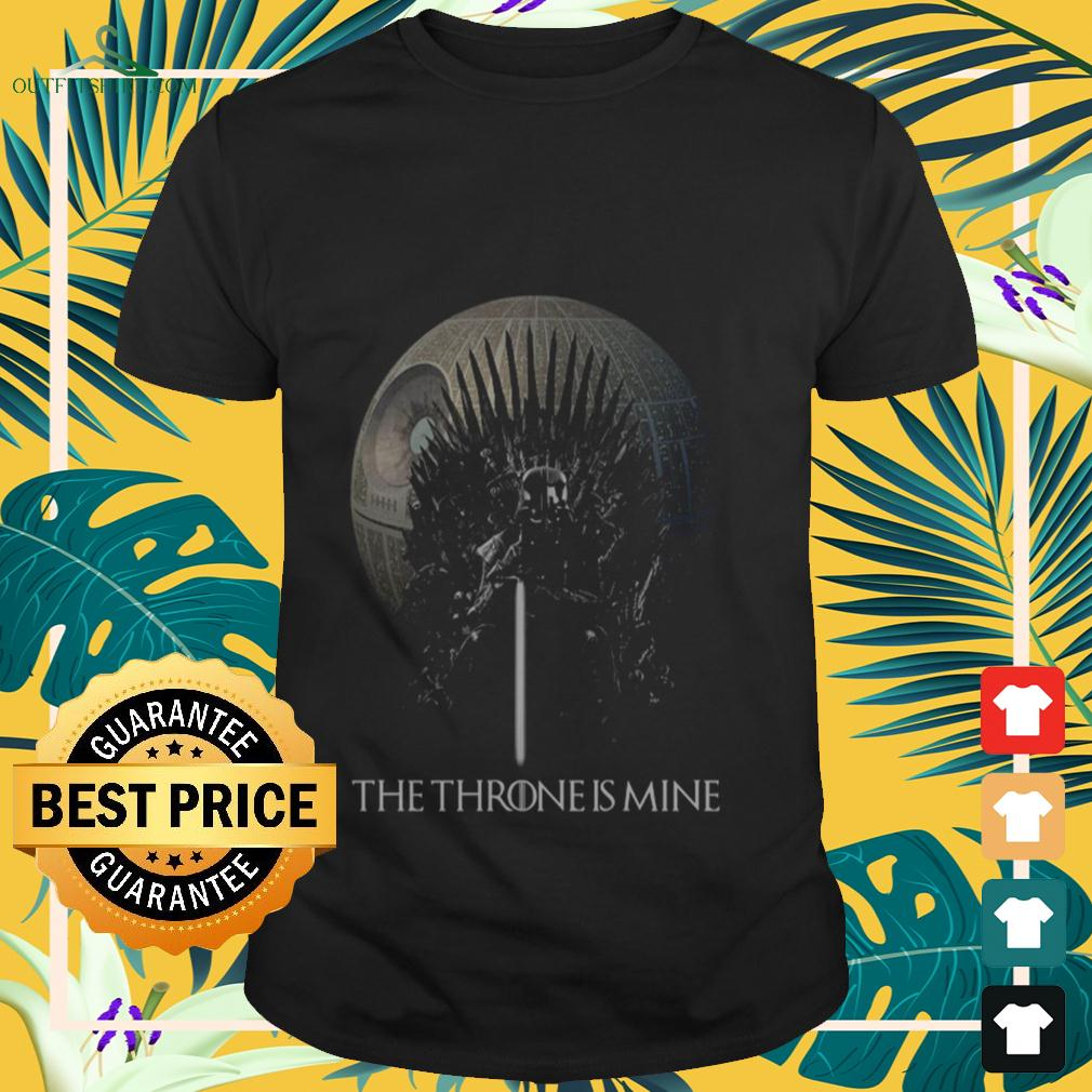 Darth Vader the Throne is mine t-shirt