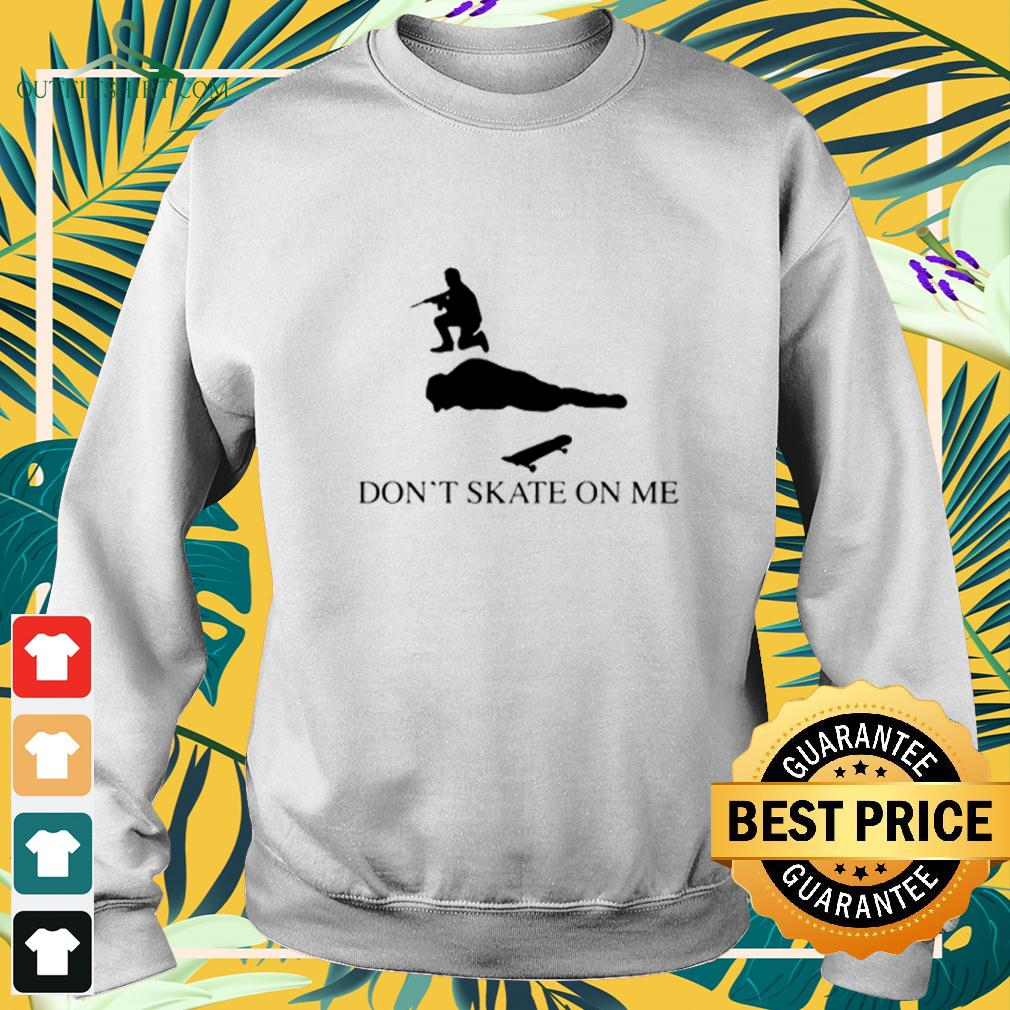 Don't skate on me sweater