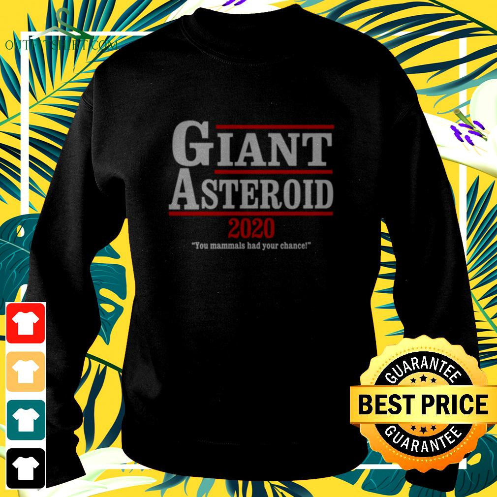 Giant asteroid 2020 you mammals your chance sweater