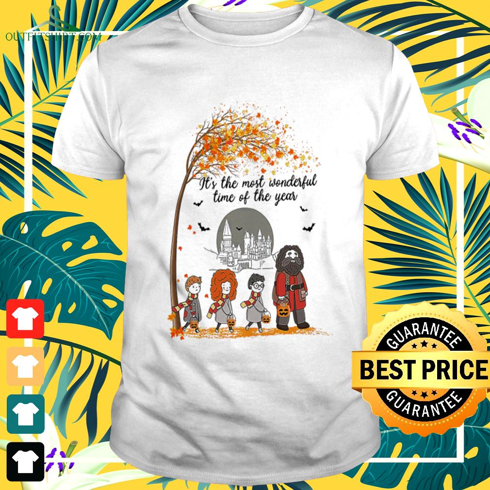 Harry Potter characters it's the most wonderful time of the year t-shirt