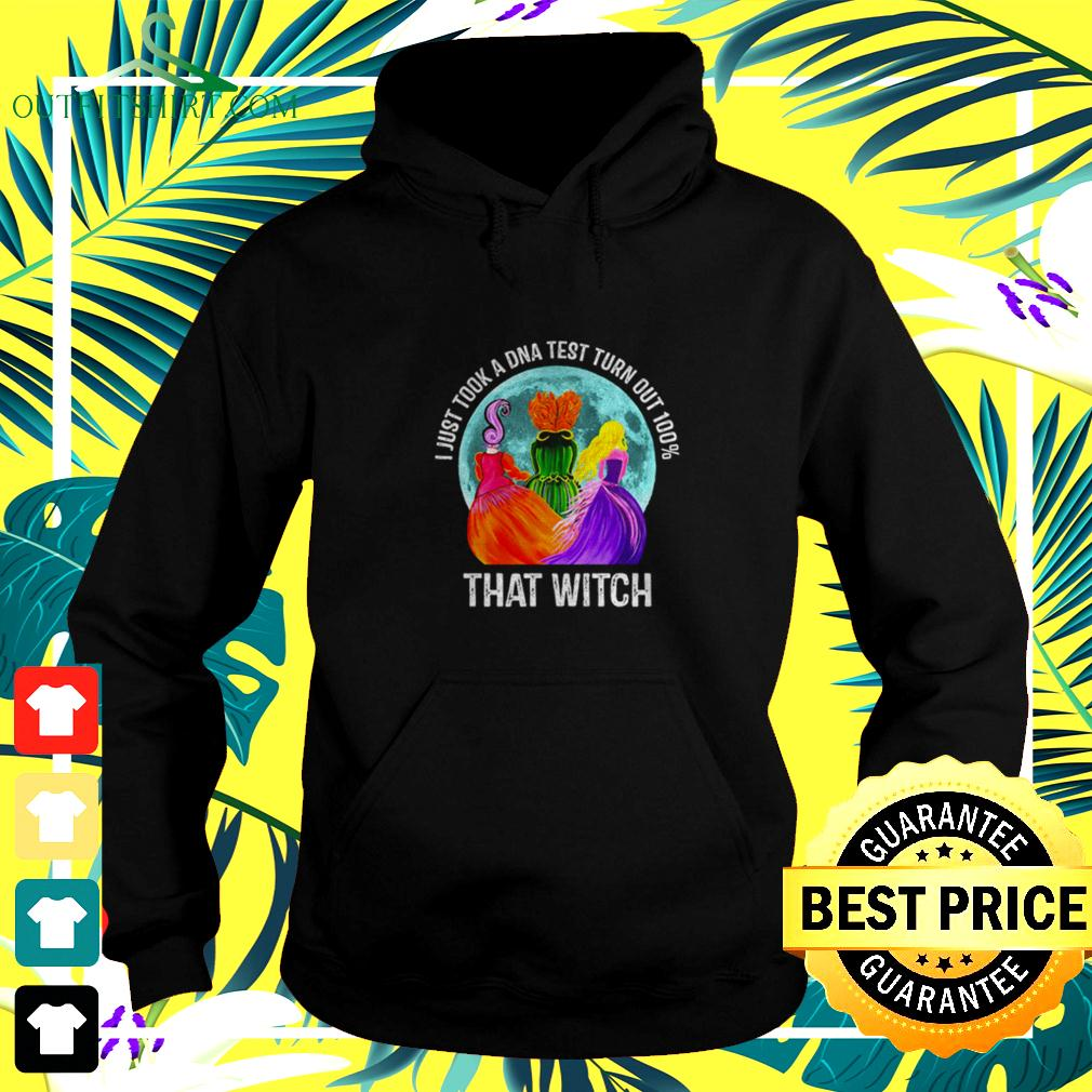 Hocus Pocus moon I just took a DNA test turn out 100' that witch halloween hoodie
