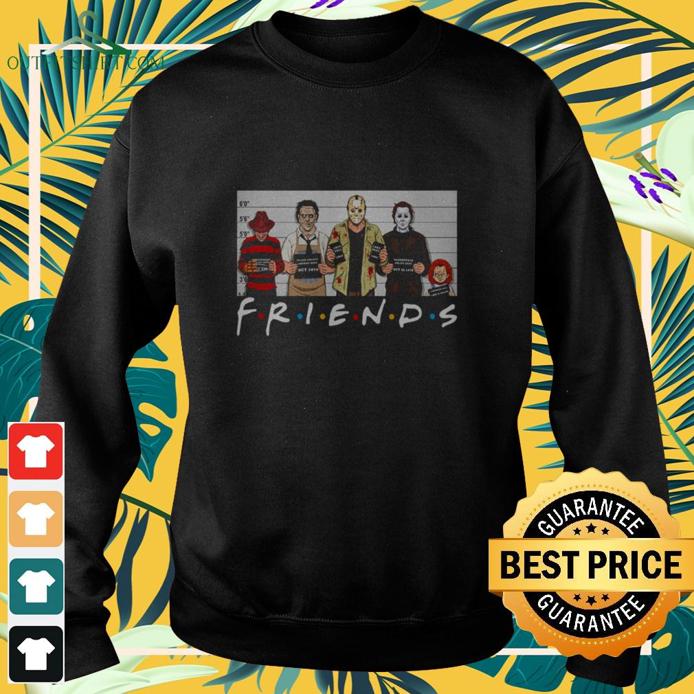 Horror movies characters killers friends sweater
