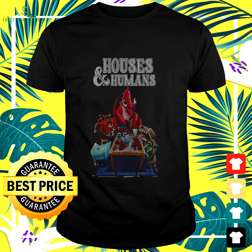 Houses and humans t-shirt
