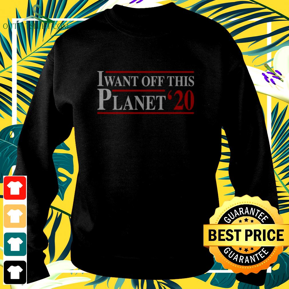 I want off this Planet 2020 sweater