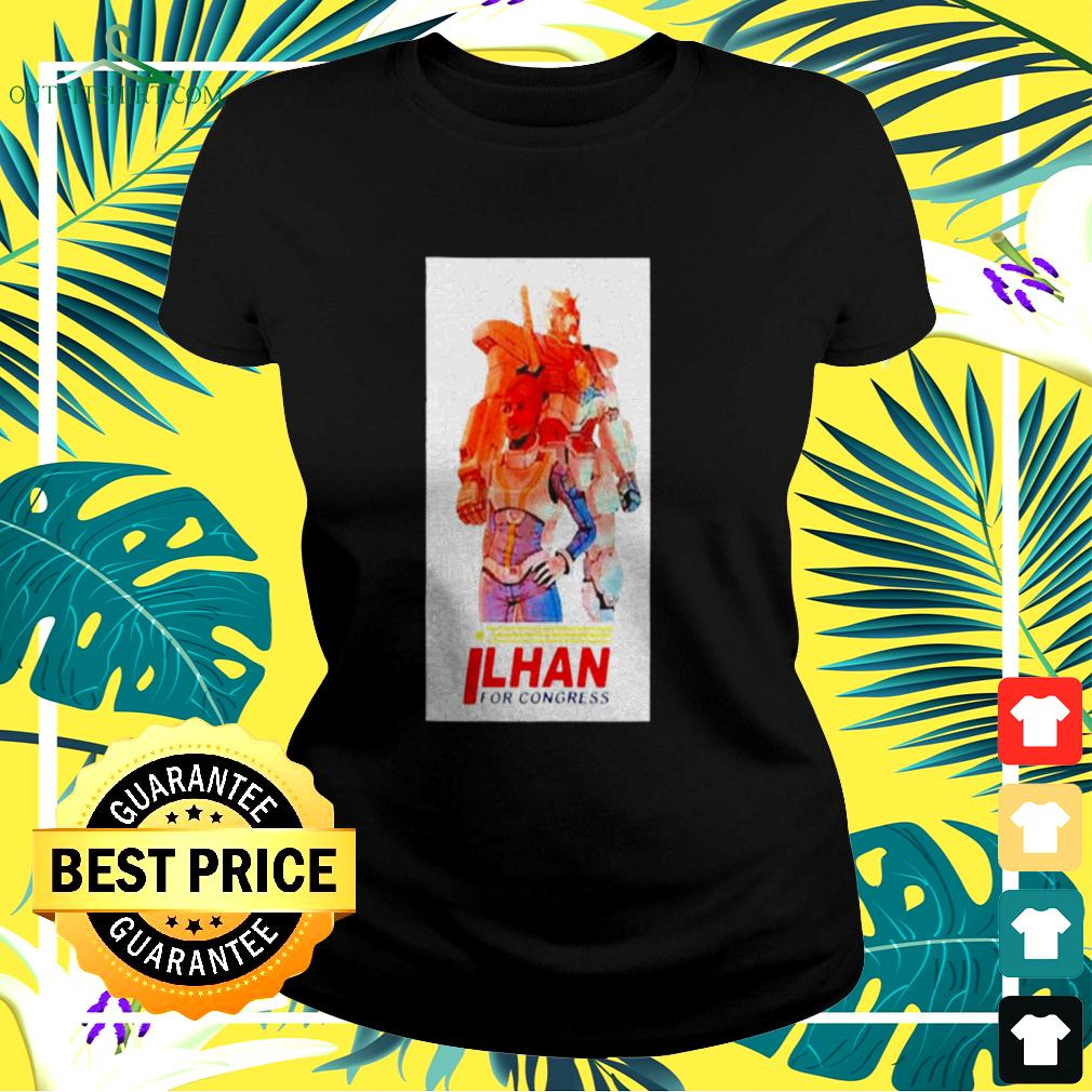 Ilhan Omar for Congress ladies-tee