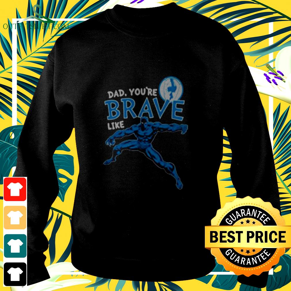 Marvel Black Panther Brave Dad Fathers Day 2020 sweater