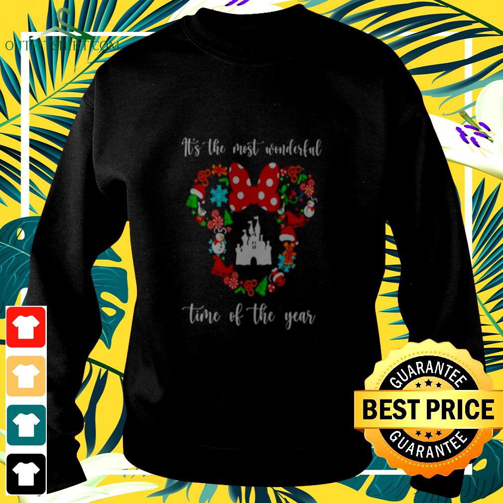 Mickey Disney It's The Most Wonderful Time Of The Year sweater