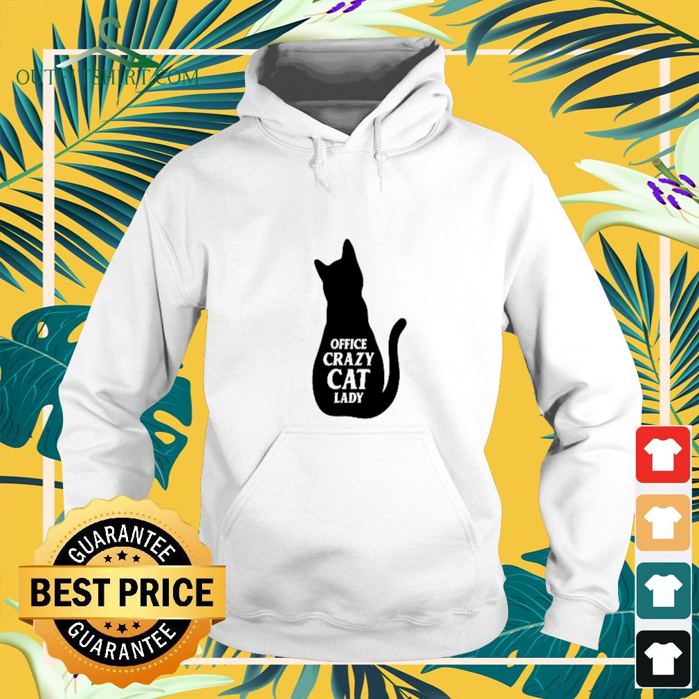 Office crazy cat lady hoodie