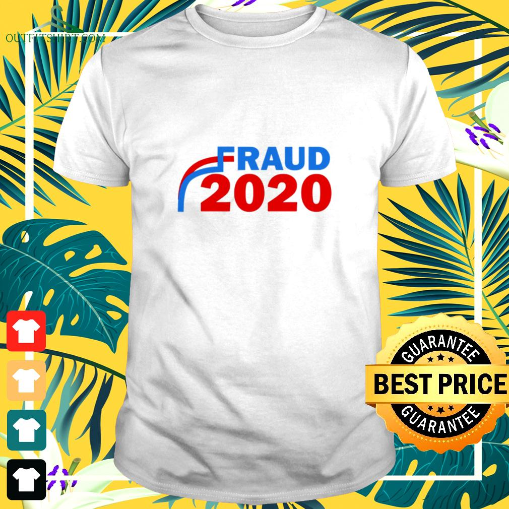 Fraud 2020 Trump Biden Election Vote Scandal t-shirt
