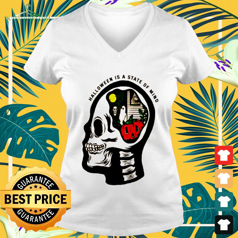 Halloween is a state of mind v-neck t-shirt