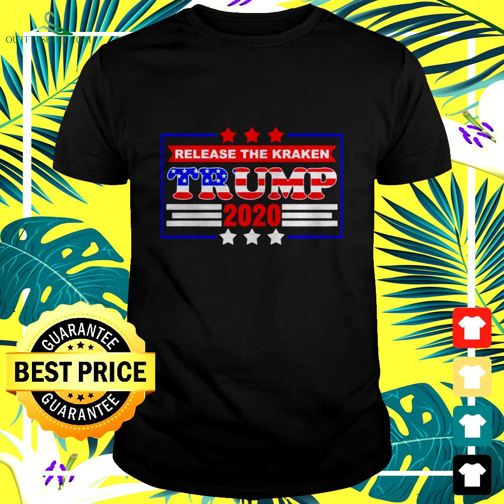 Release the Kraken Trump supported 2020 t-shirt